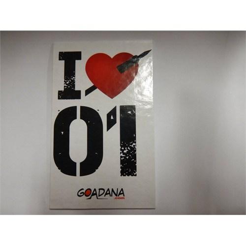 Goadana Magnet Sıvama I Love 01