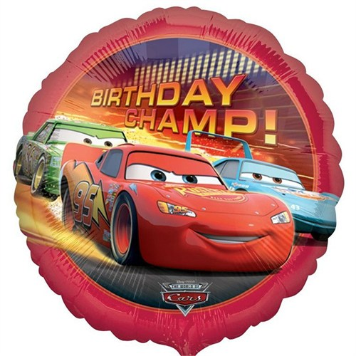 Pandoli 45 Cm Folyo Balon Cars Birthday Champ Paketli