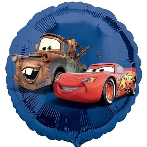 Pandoli 45 Cm Folyo Balon Disney Cars Mavi Vendor