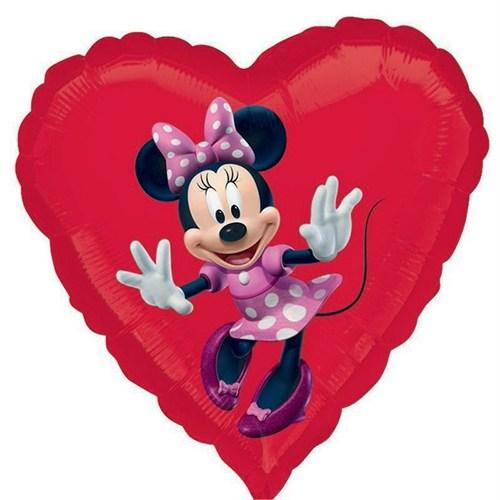 Pandoli 45 Cm Folyo Balon Minnie Mouse Kalp