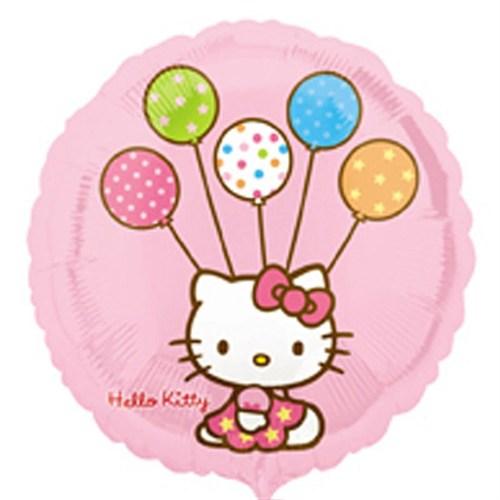 Pandoli 45 Cm Folyo Balon Hello Kitty Balonlu