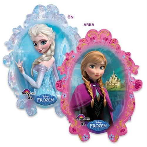 Pandoli Supershape Folyo Frozen Anna Ve Elsa Balon