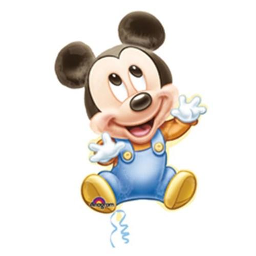 Pandoli Supershape Folyo Mickey Baby Boy Balon