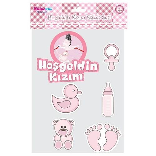 Pandoli Hoşgeldin Kızım Sticker Set