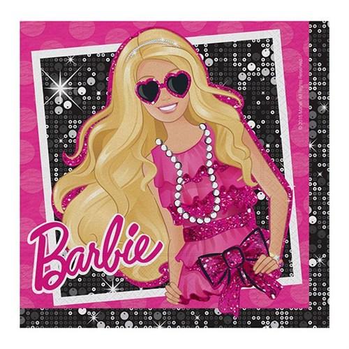 Pandoli Barbie Klasik Kağıt Peçete 33X33 Cm (16 Ad)