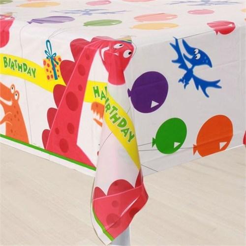 Pandoli Dino Birthday Masa Örtüsü 137X213 Cm
