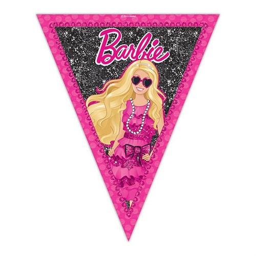 Pandoli Barbie Klasik Üçgen Bayrak Set