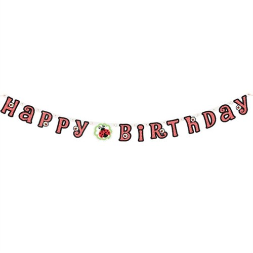 Pandoli Lively Uğur Böceği Happy Birthday Set