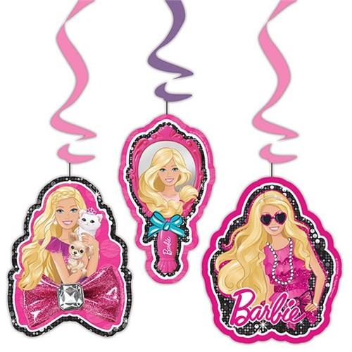 Pandoli Barbie Klasik Asmalı İp Süs