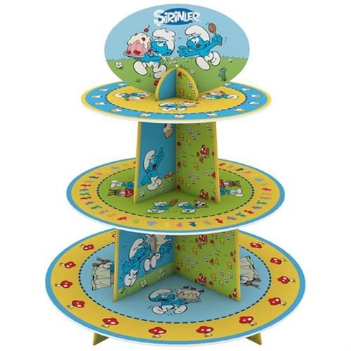 Pandoli Şirinler Cupcake Standı