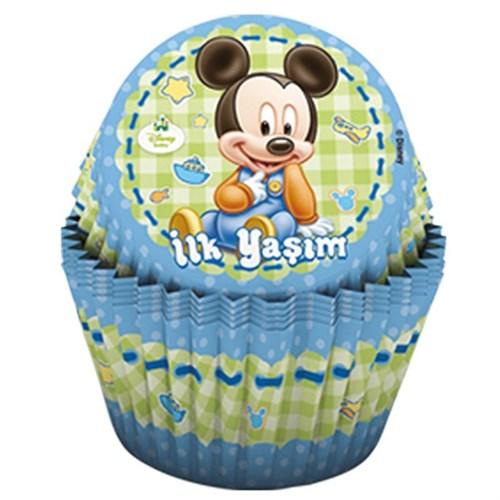 Pandoli Disney Baby Mickey Cupcake Kabı 24 Adet