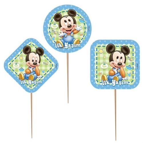 Pandoli Disney Baby Mickey Kürdan 6 Adet