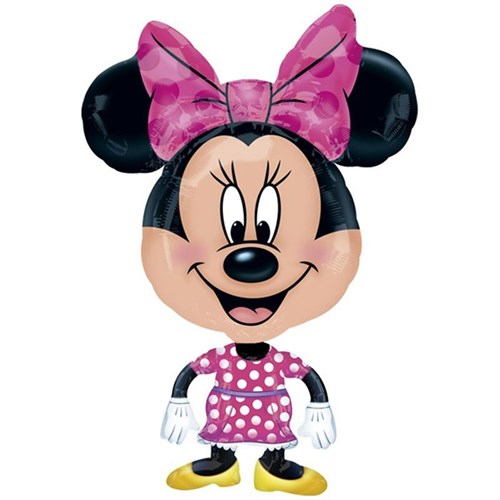 Pandoli Airwalker Buddies Minnie Mouse Balon