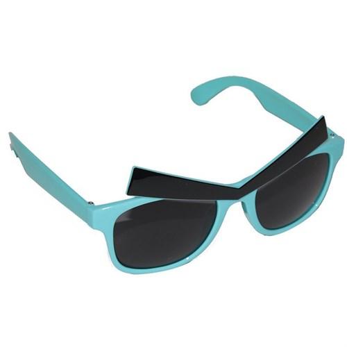 Pandoli Mavi Renk Kızgın Kuş Parti Gözlüğü Kaşlı