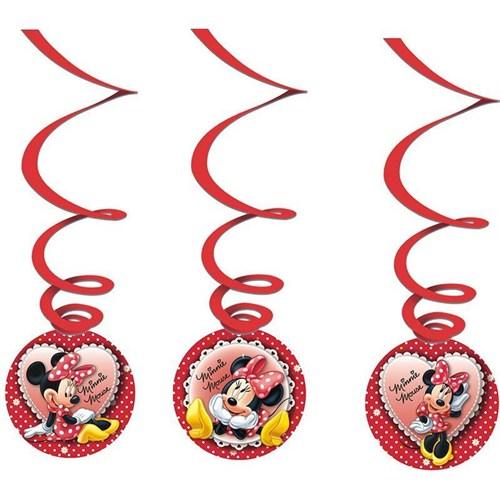 Pandoli Minnie Mouse Asmalı İp Süs