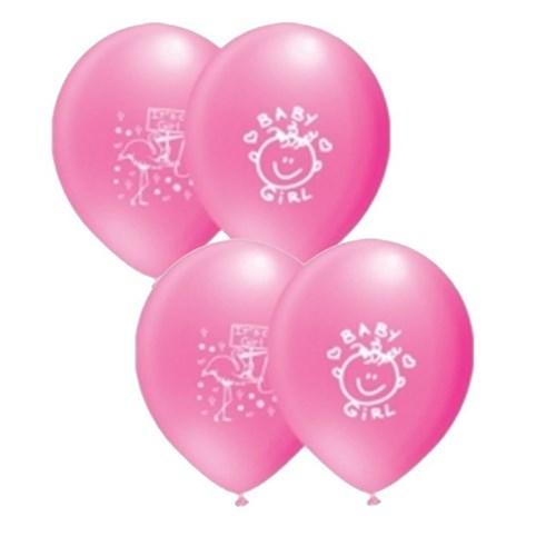 Pandoli 25 Adet It İs A Girl Baskılı Latex Balon