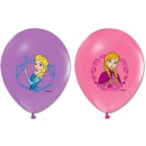 Pandoli 10 Adet Frozen Baskılı Renkli Latex Balon