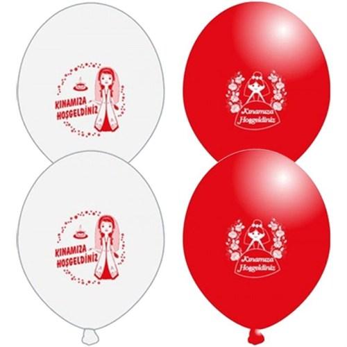 Pandoli 25 Li Kınamıza Hoşgeldiniz Baskılı Latex Balon