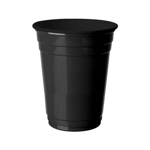 Pandoli 8 Adet Plastik Siyah Renk Meşrubat Parti Bardağı 266 Ml