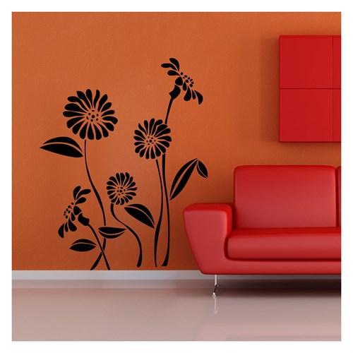 Artikel Kasımpatı Kadife Duvar Sticker Dp-881 ve Tuz boyama