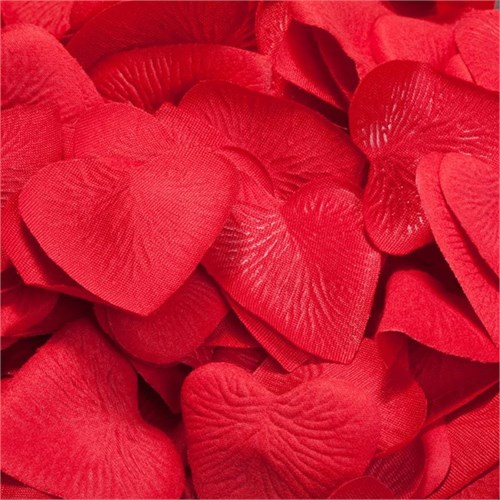 Pandoli Kırmızı Renk Kalp Konfeti 100 Lü