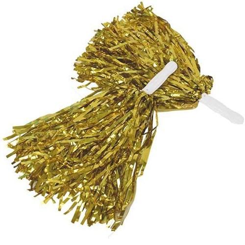 Pandoli 1 Çift Altın Renk Gösteri Ponponu