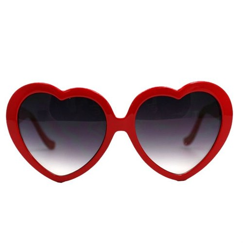 Pandoli Kalpli Parti Gözlüğü Büyük Boy Kırmızı Renk