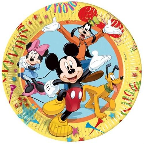 Pandoli Mickey Carnival Tabak 23 Cm 8 Adet