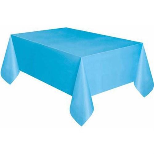 Pandoli Mavi Renk Plastik Parti Masa Örtüsü
