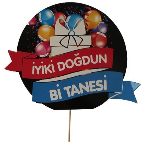 Pandoli İyiki Doğdum Bi Tanesi Konuşma Balonu