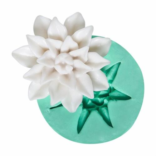 Kurdelya Lotus Çiçeği Silikon Kalıbı