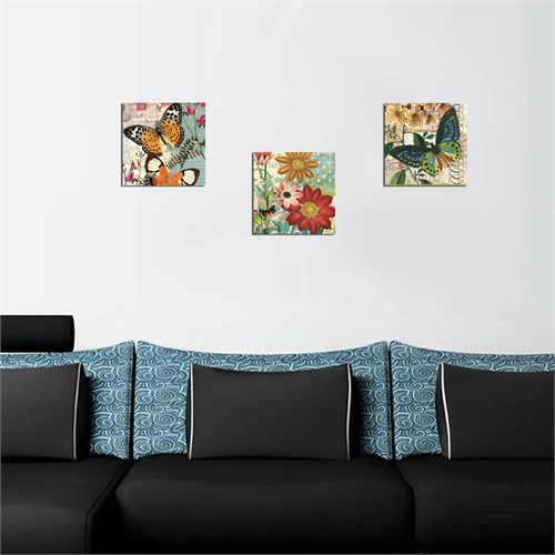 Dekorjinal Dekoratif Tablo 3Bt057