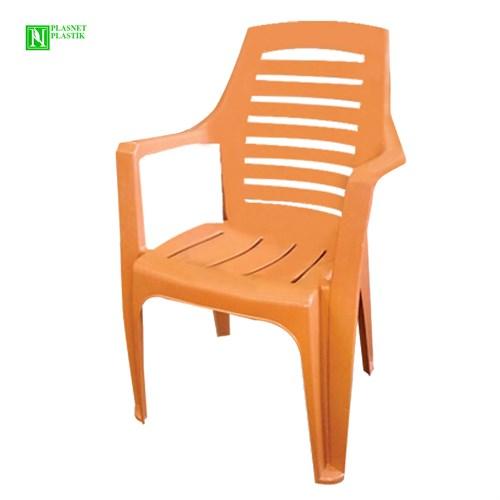 Bunjee Nirvana Lüks Plastik Sandalye Kahve