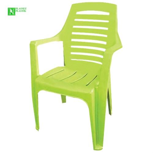 Bunjee Nirvana Lüks Plastik Sandalye Yeşil