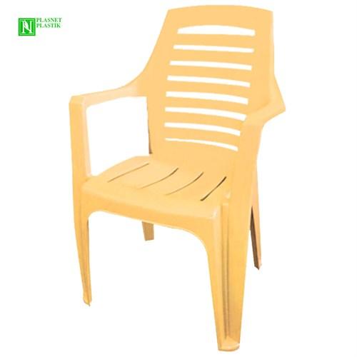 Bunjee Nirvana Lüks Plastik Sandalye Bej