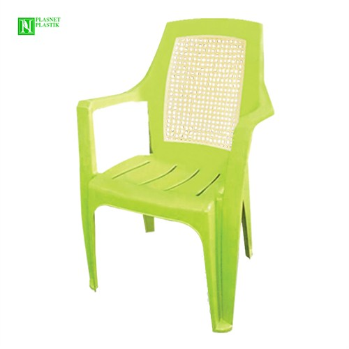 Bunjee Nirvana Çift Renkli Plastik Sandalye Yeşil