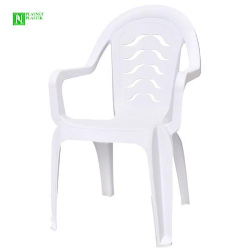 Bunjee Maksi Lüks Plastik Sandalye Beyaz