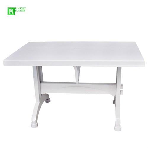 Bunjee Plastik Ayaklı Masa Beyaz