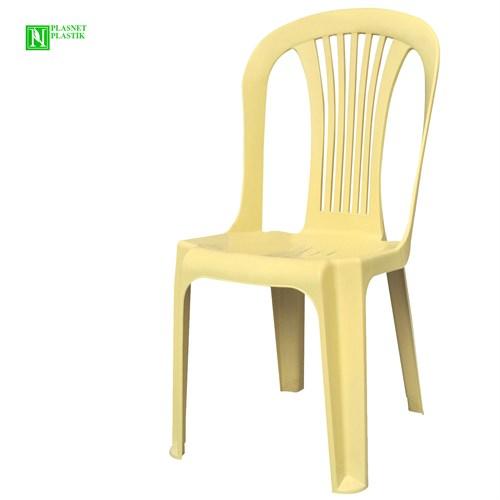 Bunjee Reina Plastik Sandalye Bej