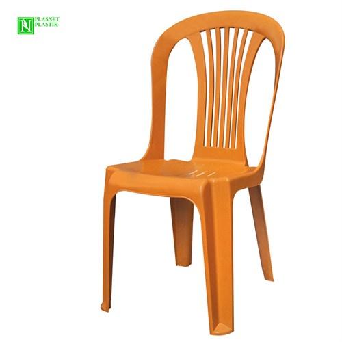 Bunjee Reina Plastik Sandalye Kahve