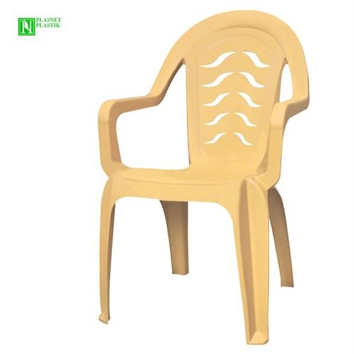 Bunjee Maksi Lüks Plastik Sandalye Bej