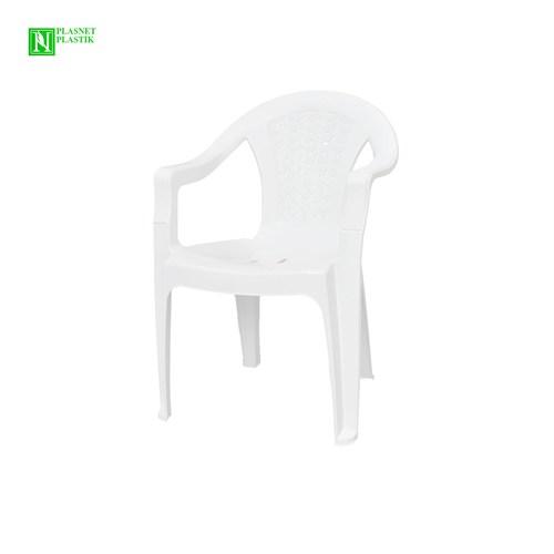 Bunjee Aqua Plastik Sandalye Beyaz