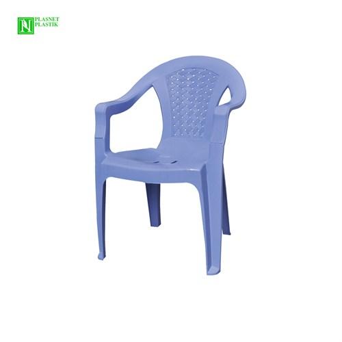 Bunjee Aqua Plastik Sandalye Mavi