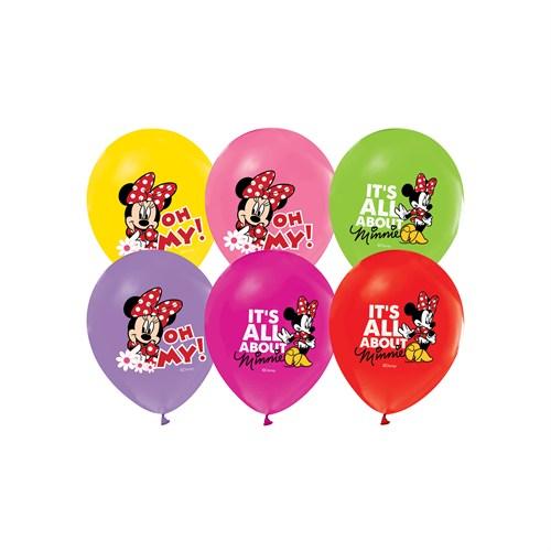 KullanAtMarket Minnie Balon