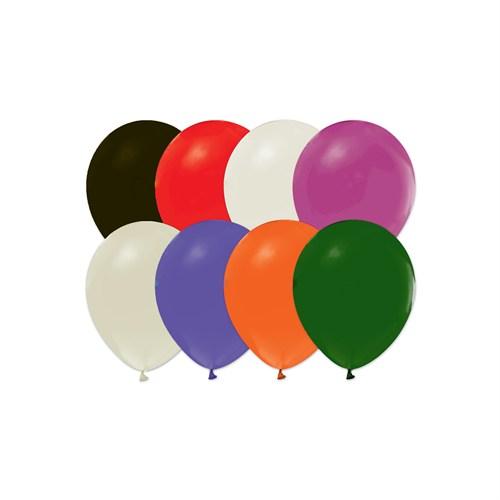 KullanAtMarket Karışık Renkli Baskısız Balon