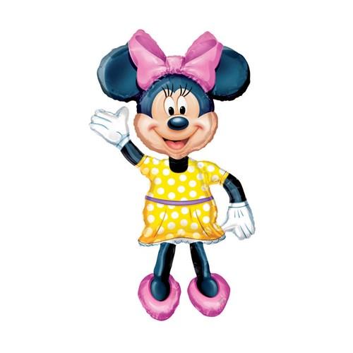KullanAtMarket Minnie Mouse Airwalker Folyo Balon