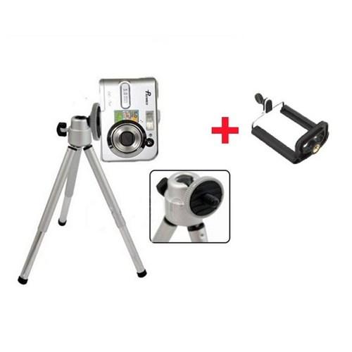 Buffer Mini Teleskopik Tripod + Telefon Başlığı