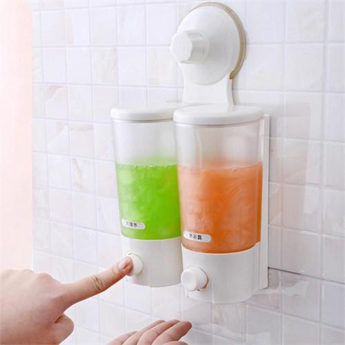 Buffer Süper Vantuzlu Pratik Sabunluk İkili