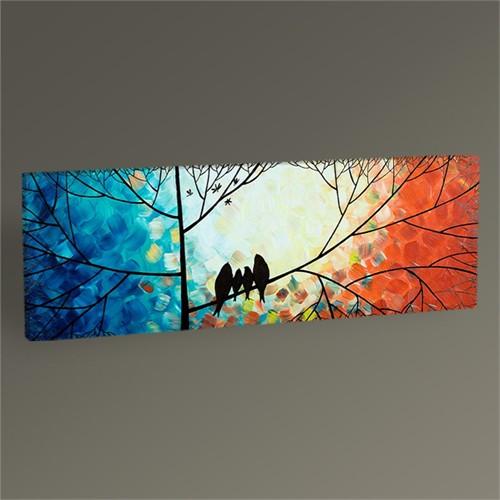 Tablo 360 Doves On Tree Iı Tablo 60X20