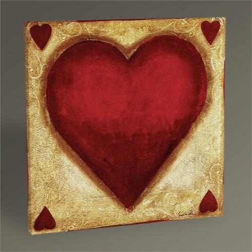 Tablo 360 Hearts Tablo 30X30